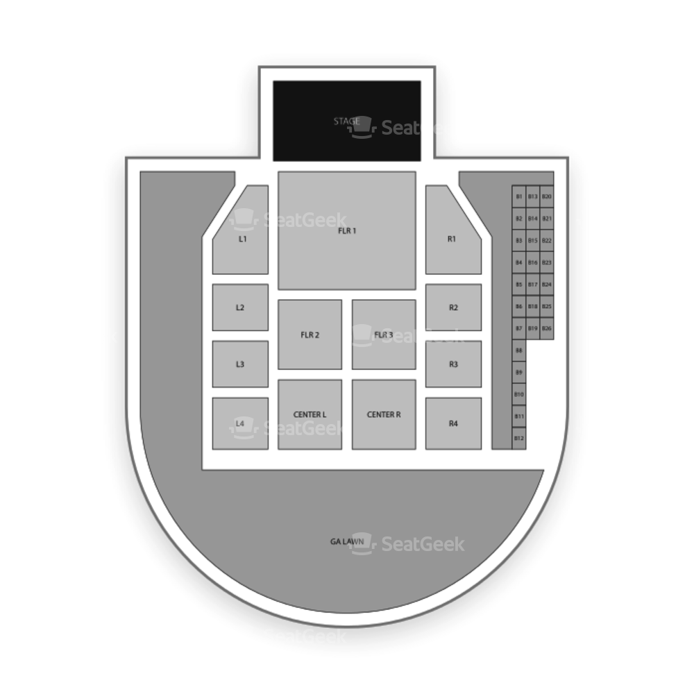 Idaho Center Seating Chart Concert