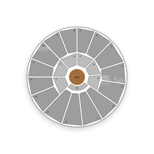 Arena Theatre Seating Chart Comedy