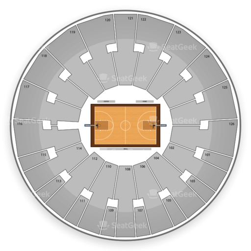 Charles Koch Arena Seating Chart