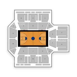The MAC at Monmouth University Seating Chart NCAA Basketball