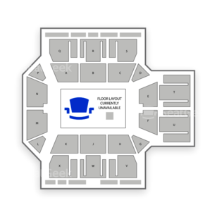 Multipurpose Activity Center Seating Chart Concert