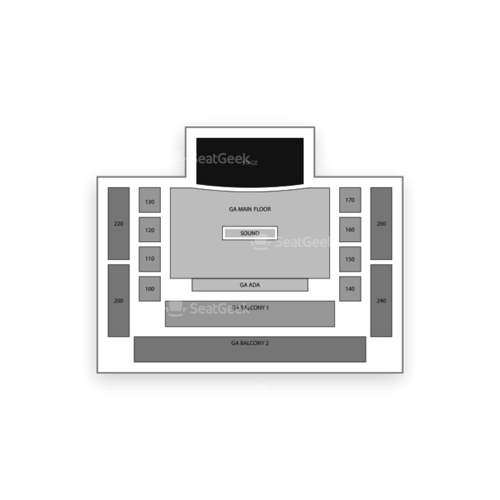 House of Blues Chicago Seating Chart Concert