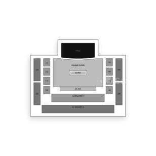 House of Blues Seating Chart Theater