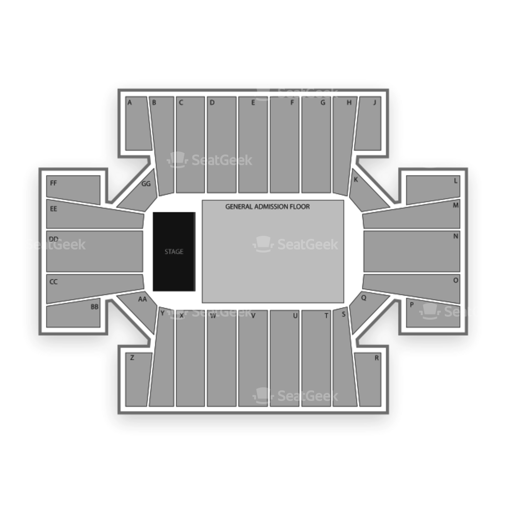 Cross Insurance Arena Seating Chart Concert