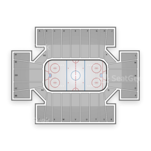 Cross Insurance Arena Seating Chart NCAA Hockey