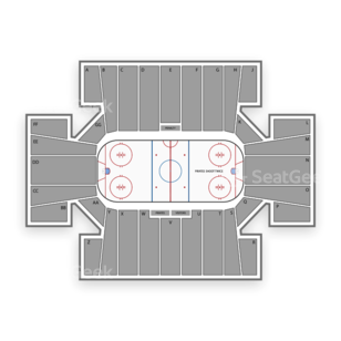Maine Black Bears Hockey Seating Chart