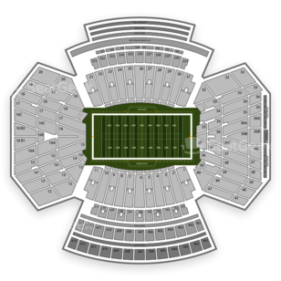 Memorial Stadium Nebraska Seating Chart Parking
