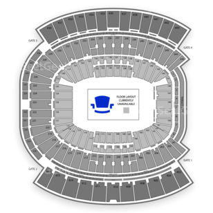 EverBank Field Seating Chart International Soccer