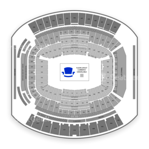 EverBank Field Seating Chart Concert
