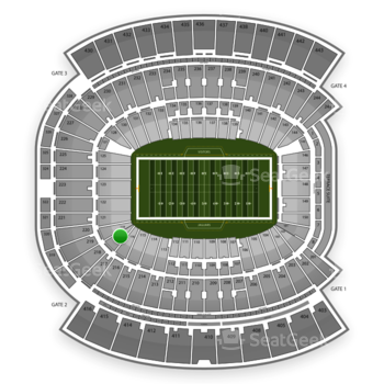 Jacksonville Jaguars at EverBank Field Section 118 View