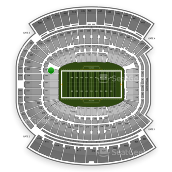 Jacksonville Jaguars at EverBank Field Section 125 View
