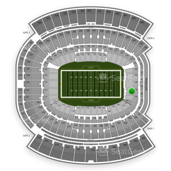 Jacksonville Jaguars at EverBank Field Section 149 View