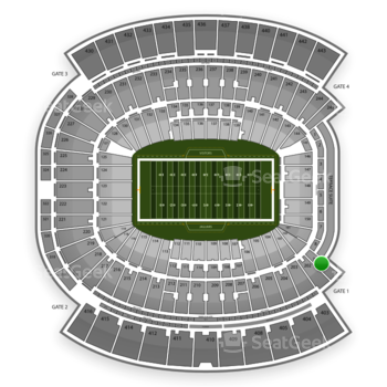Jacksonville Jaguars at EverBank Field Section 201 View