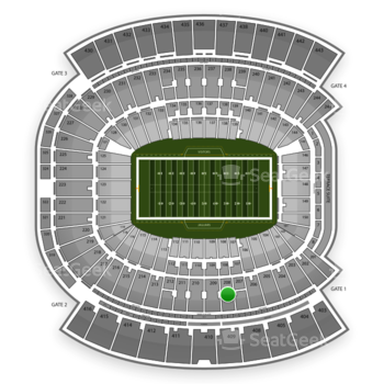 Jacksonville Jaguars at EverBank Field Section 208 View