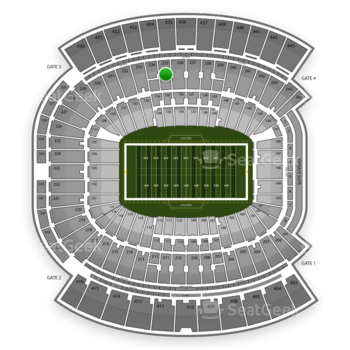 Jacksonville Jaguars at EverBank Field Section 235 View