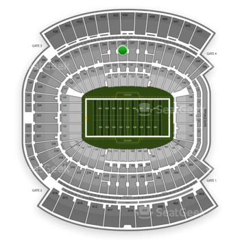 Jacksonville Jaguars at EverBank Field Section 236 View