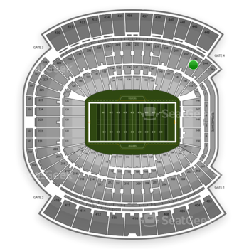 Jacksonville Jaguars at EverBank Field Section 243 View