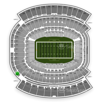 Jacksonville Jaguars at EverBank Field Section 318 View