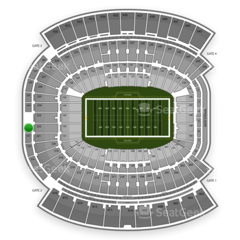 Jacksonville Jaguars at EverBank Field Section 322 View