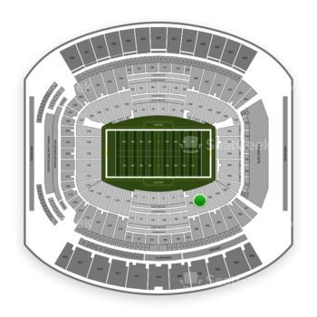 Jacksonville Jaguars at EverBank Field Section 105 View