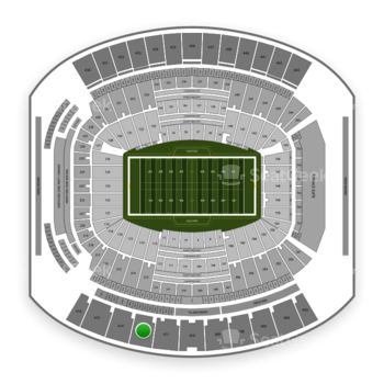 Jacksonville Jaguars at EverBank Field Section 412 View