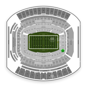 Jacksonville Jaguars at TIAA Bank Field Section 101 View