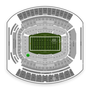 Jacksonville Jaguars at TIAA Bank Field Section 116 View