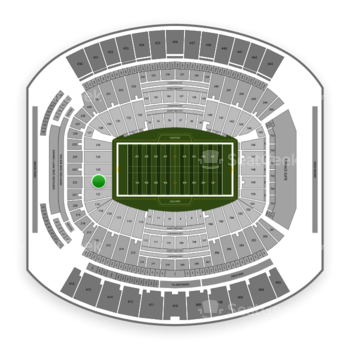 Jacksonville Jaguars at TIAA Bank Field Section 122 View
