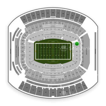 Jacksonville Jaguars at TIAA Bank Field Section 146 View
