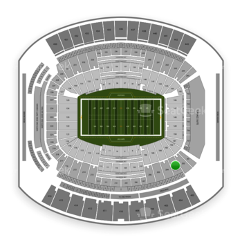 Jacksonville Jaguars at TIAA Bank Field Section 203 View