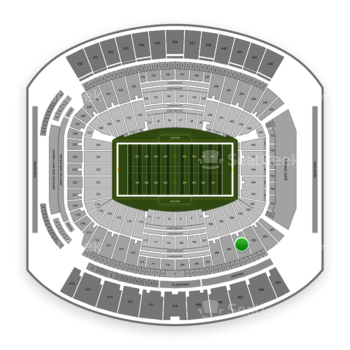 Jacksonville Jaguars at TIAA Bank Field Section 204 View