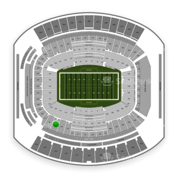 Jacksonville Jaguars at TIAA Bank Field Section 215 View