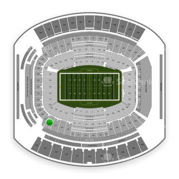 Jacksonville Jaguars at TIAA Bank Field Section 216 View