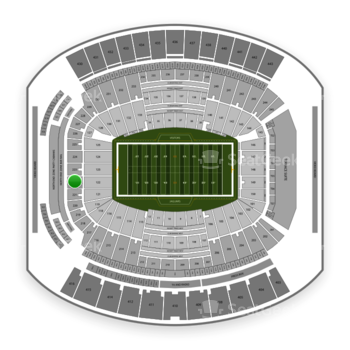 Jacksonville Jaguars at TIAA Bank Field Section 222 View