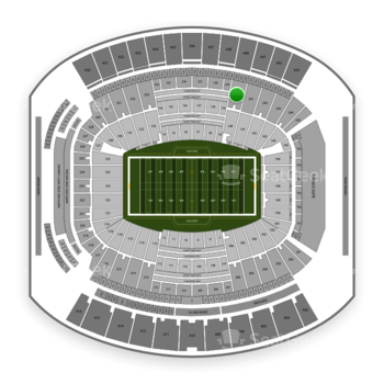 Jacksonville Jaguars at TIAA Bank Field Section 240 View