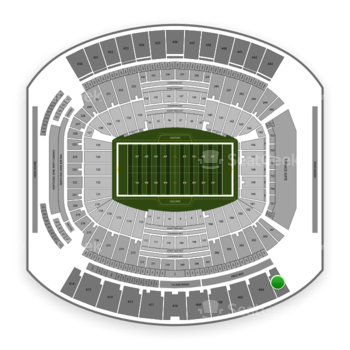 Jacksonville Jaguars at TIAA Bank Field Section 403 View