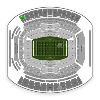 Jacksonville Jaguars at TIAA Bank Field Section 430 View