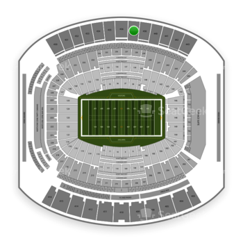 Jacksonville Jaguars at TIAA Bank Field Section 437 View