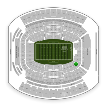 Jacksonville Jaguars at TIAA Bank Field Section 102 View