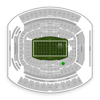 Jacksonville Jaguars at TIAA Bank Field Section 105 View