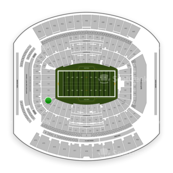 Jacksonville Jaguars at TIAA Bank Field Section 119 View