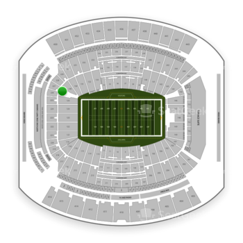 Jacksonville Jaguars at TIAA Bank Field Section 127 View