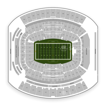 Jacksonville Jaguars at TIAA Bank Field Section 138 View