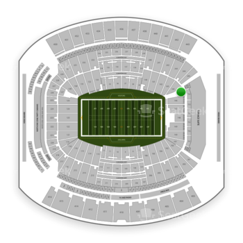 Jacksonville Jaguars at TIAA Bank Field Section 145 View