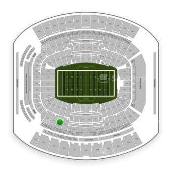 Jacksonville Jaguars at TIAA Bank Field Section 214 View