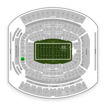 Jacksonville Jaguars at TIAA Bank Field Section 221 View