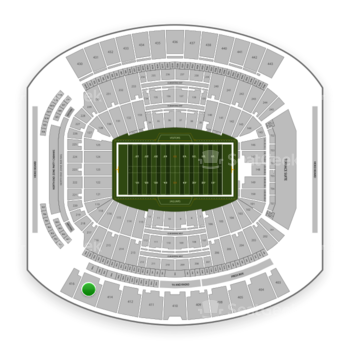 Jacksonville Jaguars at TIAA Bank Field Section 415 View