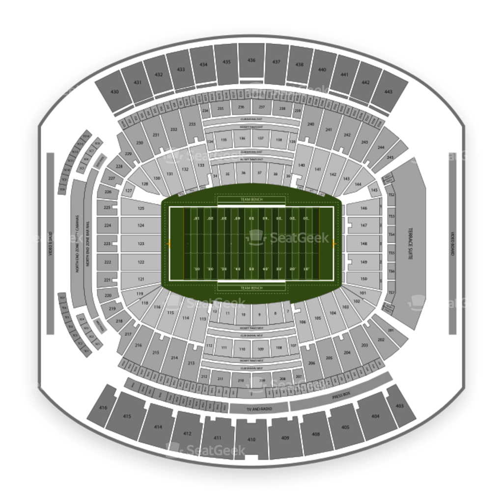 Taxslayer Bowl Seating Chart Everbank Field Parking With Hotels Near Fl