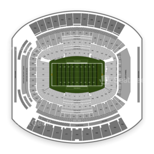 TaxSlayer Bowl Seating Chart