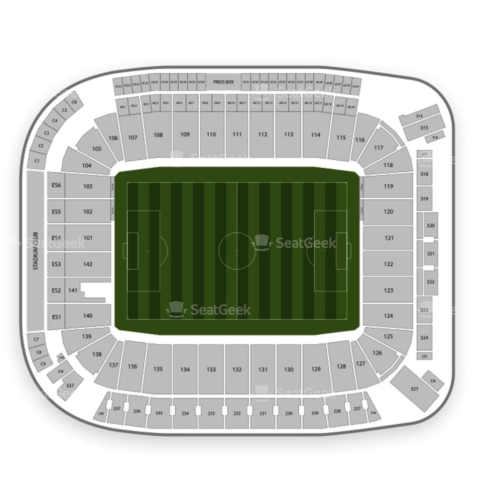 Dignity Health Sports Park Seating Chart Soccer